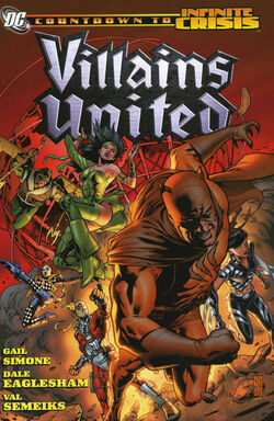 Cover for the Villains United Trade Paperback