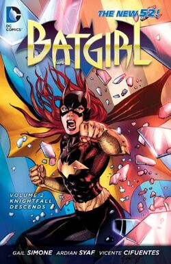 Cover for the Batgirl: Knightfall Descends Trade Paperback