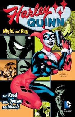 Cover for the Harley Quinn: Night and Day Trade Paperback