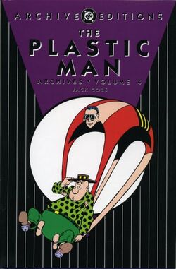 Cover for the Plastic Man Archives Vol. 4 Trade Paperback