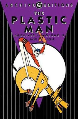 Cover for the Plastic Man Archives Vol. 2 Trade Paperback