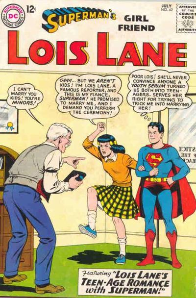 Superman S Girlfriend Lois Lane Vol 1 42 Dc Database