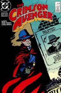 Crimson Avenger Vol 1 1
