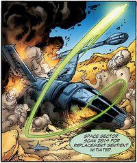 Abin Sur's Starship 004