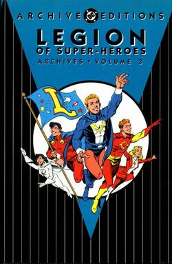 Cover for the Legion of Super-Heroes Archives Vol. 3 Trade Paperback