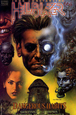 Cover for the Hellblazer: Dangerous Habits Trade Paperback