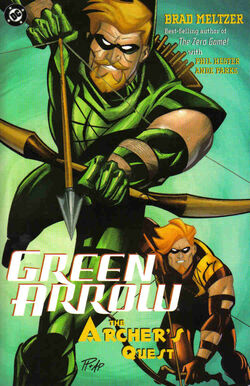Cover for the Green Arrow: The Archer's Quest Trade Paperback