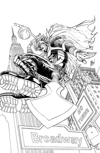 Textless Pencils & Inks