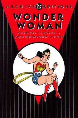 Cover for the Wonder Woman Archives Vol. 5 Trade Paperback