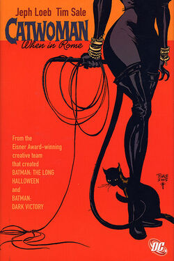 Cover for the Catwoman: When in Rome Trade Paperback
