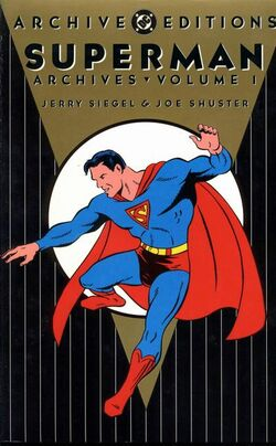 Cover for the The Superman Archives Vol. 1 Trade Paperback