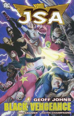 Cover for the JSA: Black Vengeance Trade Paperback