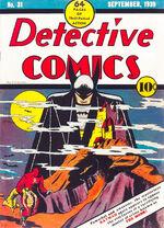 Detective Comics #31; illustration by Bob Kane