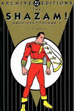 Cover for the The Shazam! Archives Vol. 1 Trade Paperback