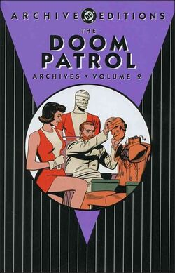 Cover for the Doom Patrol Archives Vol. 2 Trade Paperback
