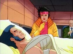 Xavier Apologizes to Unconscious Logan