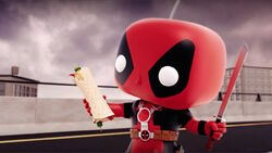 Deadpool Realizes Chimichanga CMCG