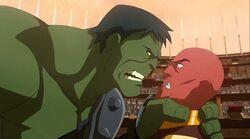 Hulk Threatens Red King PH