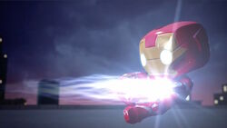 Iron Man Blasted SBD