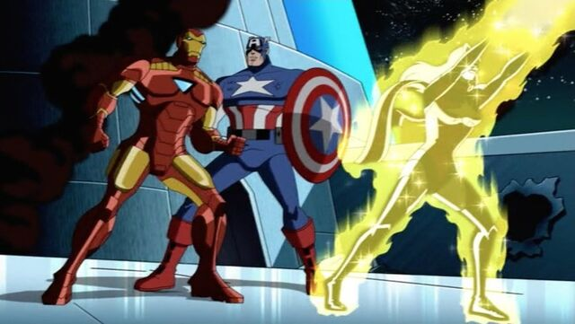 File:Iron Man Teases Cap About Robots AEMH.jpg