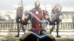 Widow Shocks Iron Man IMRT
