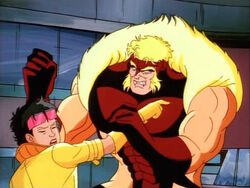Sabretooth Wants Wolverines Carcass