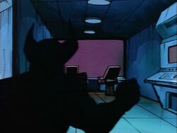 Wolverine in War Room Shadows