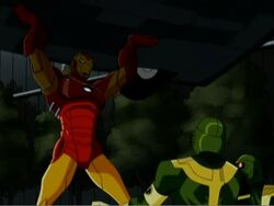 Iron Man Lifts Car AEMH