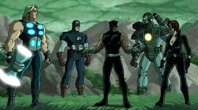 File:Panther Greets Avengers UA2.jpg