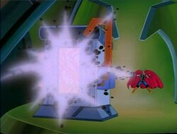 Thor Charges Galactus Battery