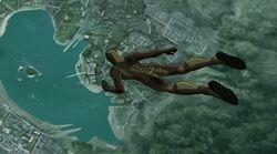 Giant Man Falls UA2