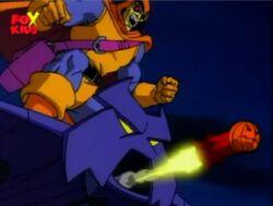 Hobgoblin Fires Smart Missile