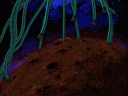 Galactus Leaves Unknown Planet Dead