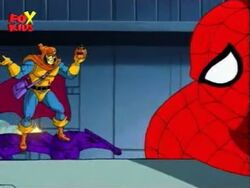 Hobgoblin Trapped Spider-Man