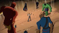 Avengers Guardians Surround Korvac AEMH