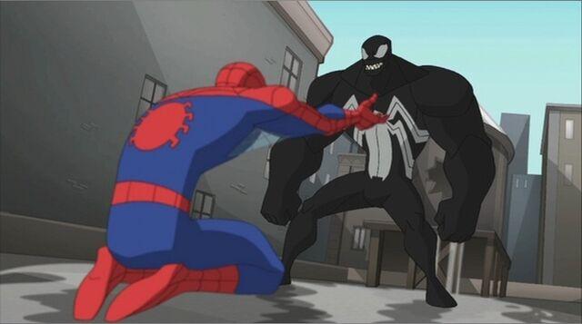 File:Spider-Man Surrenders to Venom SSM.jpg