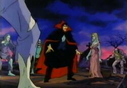 Vampires Surround Dracula DSD