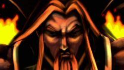 Mandarin Statue Glows IIM