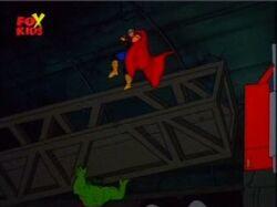 Hulk Lifts Thor Semi
