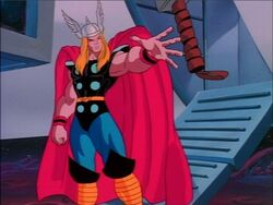 Mjolnir Returns to Thor