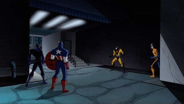 File:Cap Panther Confront Yellowjacket AEMH.jpg