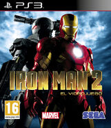 IronMan2 PS3 ES cover