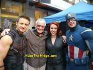 Behind the Scene the avengers 9