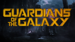 Guardians of the Galaxy Title Card (2014)