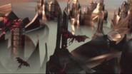 Infernir attack Asgard
