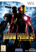 IronMan2 Wii EU cover