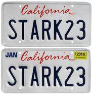 Stark-23-Iron-Man-2-License-Plates