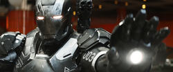 Congratulations Cap (War Machine Armor Mark III)