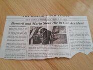 Howard Stark death news