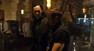 Loki and Hawkeye deleted scene 7